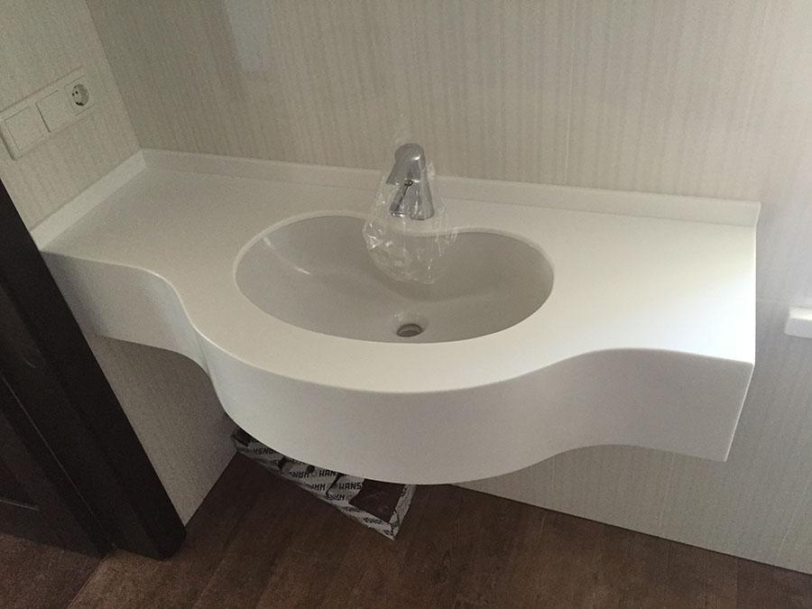 фото акриловая ванной раковина для